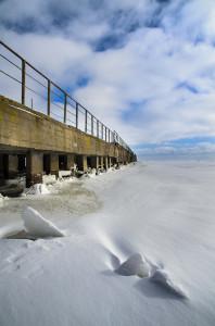Зимняя пристань